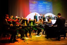 Matthew Allan BA (Hons) PGCE performs with Laurence Jackson School Orchestra